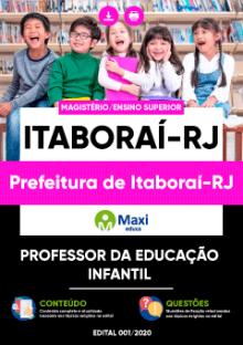 Apostila Digital em PDF da Prefeitura de Itaboraí-RJ