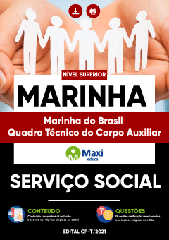 Apostila Digital em PDF da Marinha do Brasil - Quadro Técnico do Corpo Auxiliar da Marinha - MARINHA