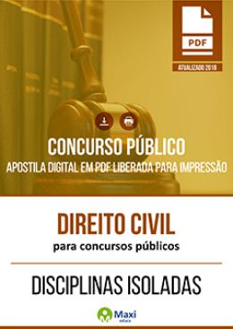 Direito Civil para Concursos Públicos