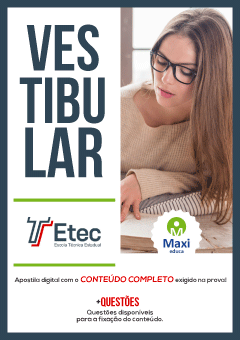 Apostila Digital Preparatória para Vestibular - ETEC 2019
