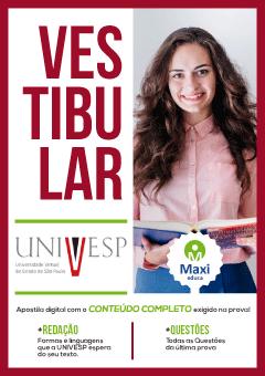 Apostila Digital Preparatória em PDF da Universidade Virtual de São Paulo - UNIVESP