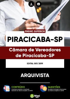Apostila Digital em PDF da Câmara de Vereadores de Piracicaba-SP