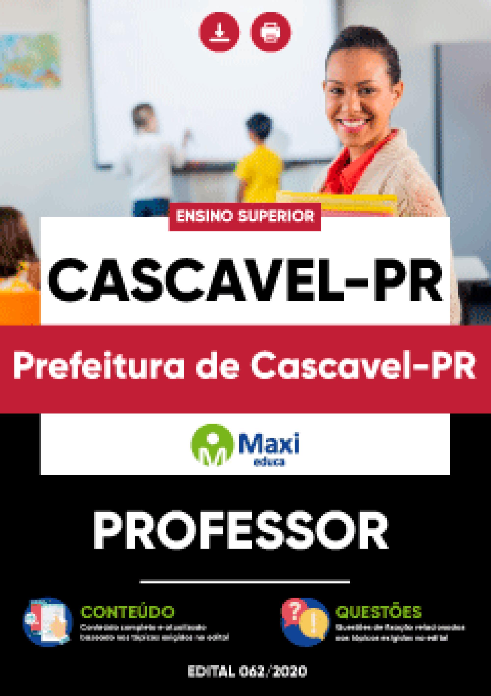 Apostila Digital em PDF da Prefeitura de Cascavel - PR - DUPLICADO