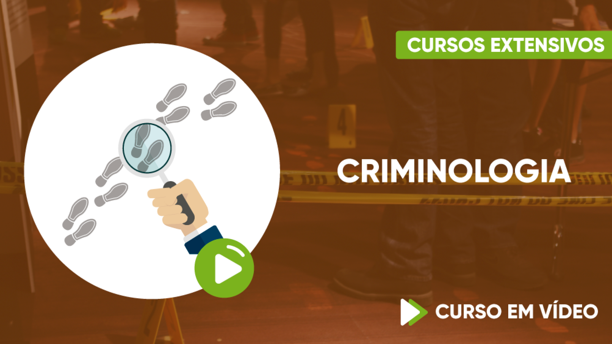Capa - Curso para Concursos - Criminologia