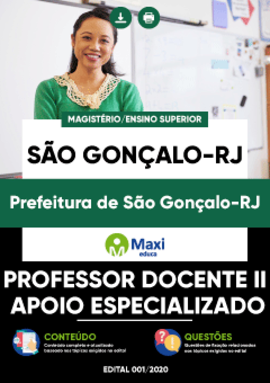 Apostila Digital em PDF da Prefeitura de São Gonçalo-RJ
