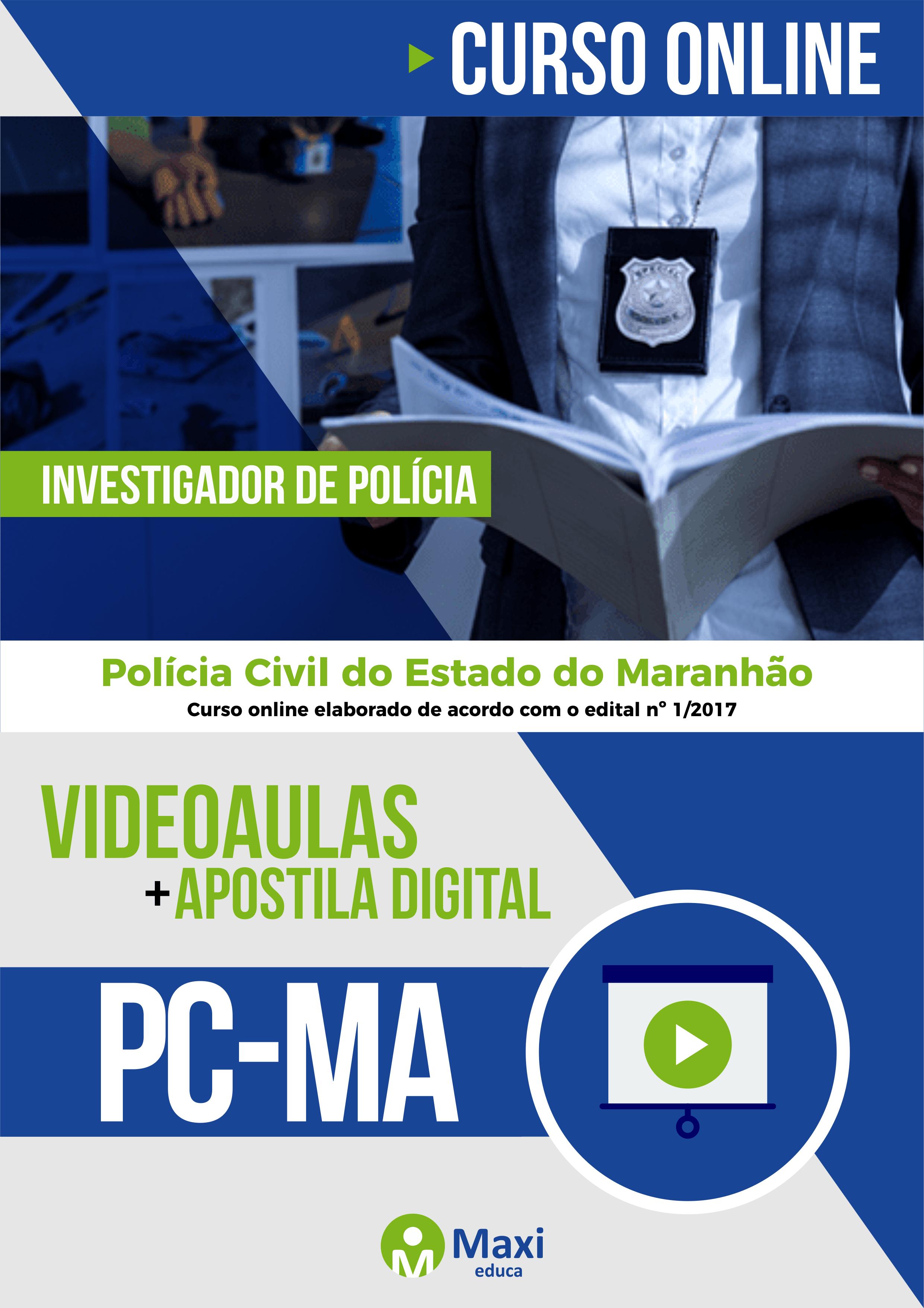 PC-MA - Polícia Civil do Estado do Maranhão Escrivão de Polícia