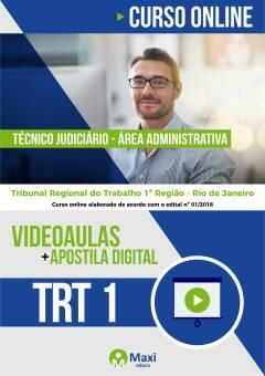 TRT 1 - Tribunal Regional do Trabalho 1ª Região - Rio de Janeiro