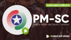 Curso Gratuito PM-SC - Polícia Militar de Santa Catarina - Agente Temporário de Serviço Administrativo