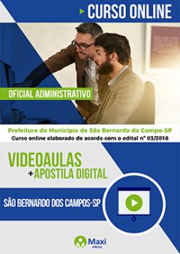 Oficial Administrativo I - Ensino Médio