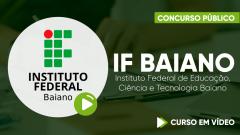 Curso IF Baiano - Instituto Federal de Educação, Ciência e Tecnologia Baiano - Curso Gratuito - Assistente em Administração - Nível D