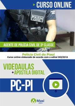 PC-PI - Polícia Civil do Piauí