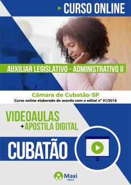 Auxiliar Legislativo – Administrativo II