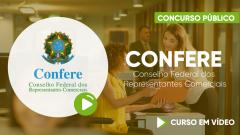 Curso Gratuito CONFERE - Conselho Federal dos Representantes Comerciais - Assistente Administrativo