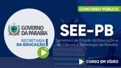 SEE-PB - Secretaria de Estado da Educação e da Ciência e Tecnologia da Paraíba