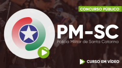 Curso Gratuito PM-SC - Polícia Militar de Santa Catarina - Soldado (QPPM) Feminino e Masculino