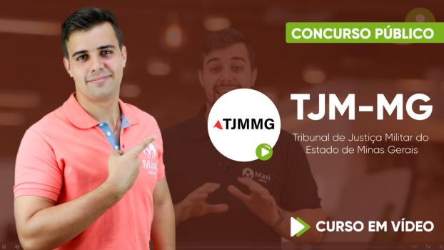 Curso do Tribunal de Justiça Militar do Estado de Minas Gerais - TJM-MG - Oficial Judiciário