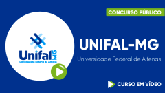 Curso Gratuito UNIFAL-MG - Universidade Federal de Alfenas