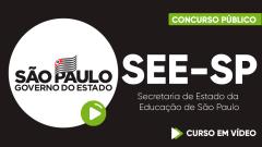 Curso Gratuito SEE-SP - Secretaria de Estado da Educação de São Paulo - Agente de Organização Escolar - Nível Médio