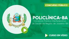POLICLÍNICA-BA - Consórcio Público Interfederativo de Saúde da Região de Juazeiro