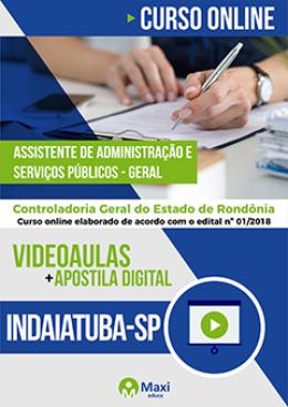 Assistente de Administração e Serviços Públicos - Geral