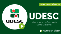 Curso Gratuito UDESC - Universidade do Estado de Santa Catarina - Assistente Administrativo