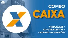 Combo Curso Online + Apostila Digital e Caderno de Questões - CAIXA