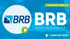 Curso Gratuito BRB - Banco de Brasília S.A - Escriturário