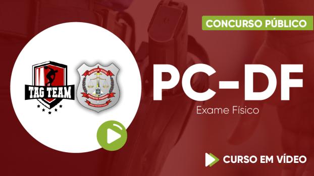 Curso de Exame Físico para o concurso da Polícia Civil do Distrito Federal - Exercícios para o Exame Físico da PC-DF