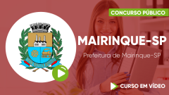 Curso Prefeitura de Mairinque-SP
