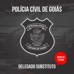Grupo de Estudos - PC-GO - Delegado de Polícia
