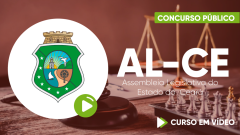 Curso da  Assembleia Legislativa do Estado do Ceará-AL-CE