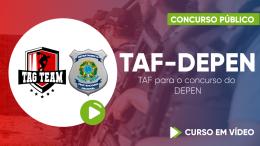 Exercícios para o TAF para o DEPEN