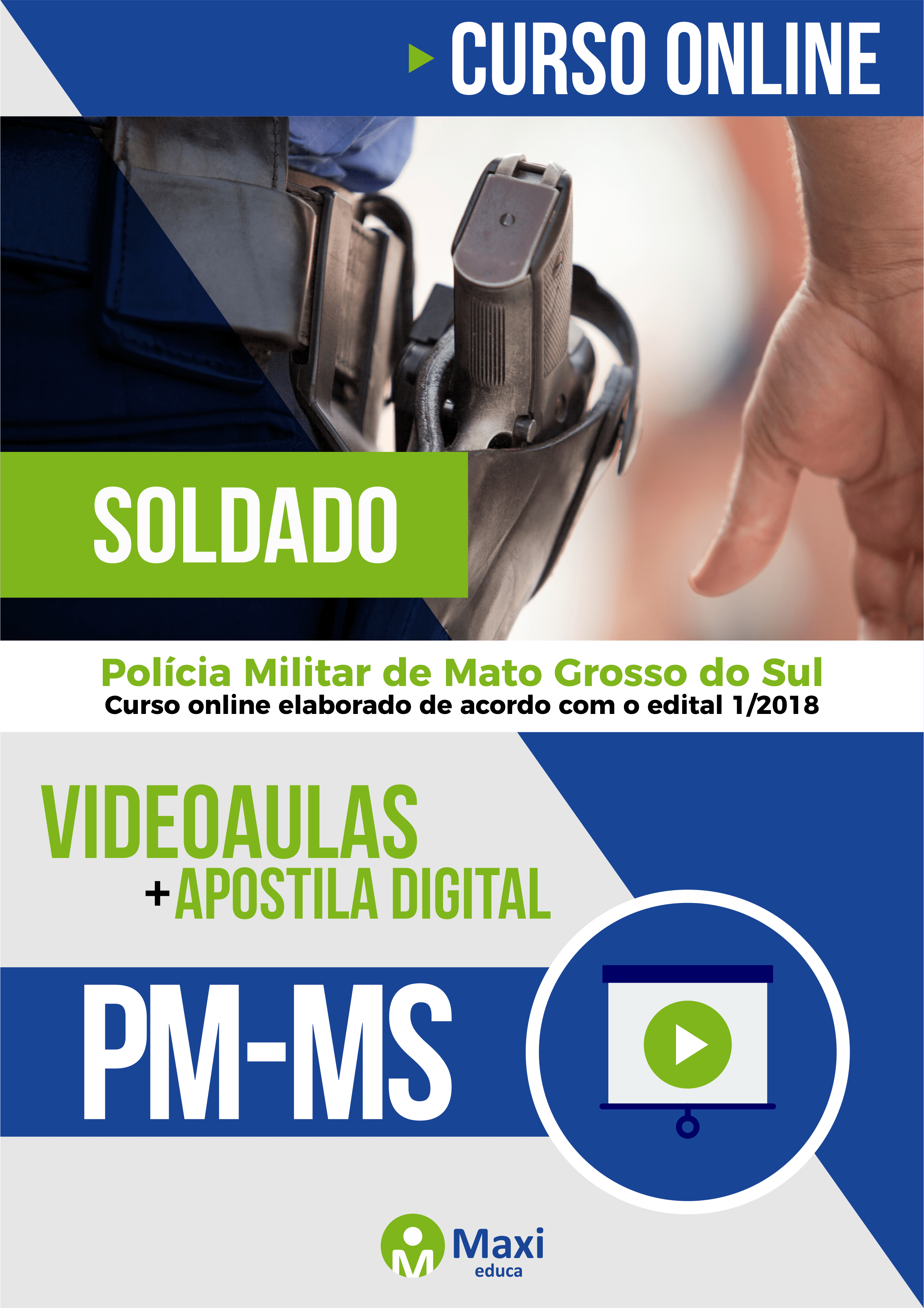 PM-MS- Polícia Militar de Mato Grosso do Sul